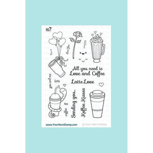 Your Next Stamp - Love and Coffee Stamp