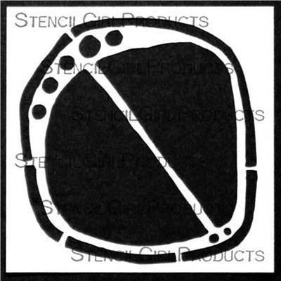 StencilGirl - Divided Shape