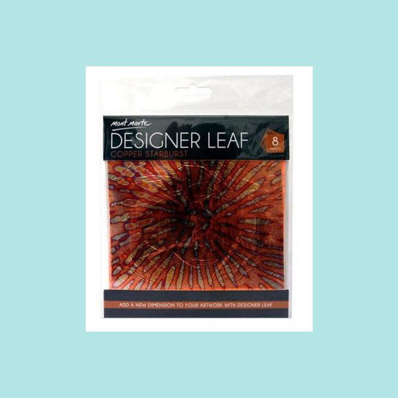 Mont Marte - Designer Leaf - Copper Star Burst