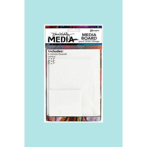 Dina Wakley Media Board Canvas