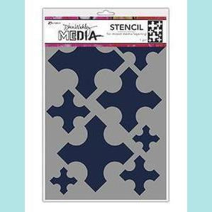 Ranger - Dina Wakley Media Stencils Large Medieval Crosses