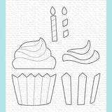 My Favorite Things - Frosted Cupcake Die-namics