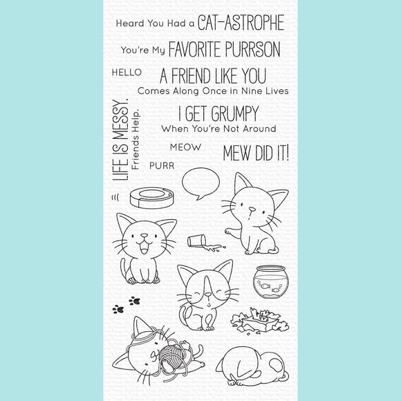 My Favorite Things - BB Cat-astrophe Stamps