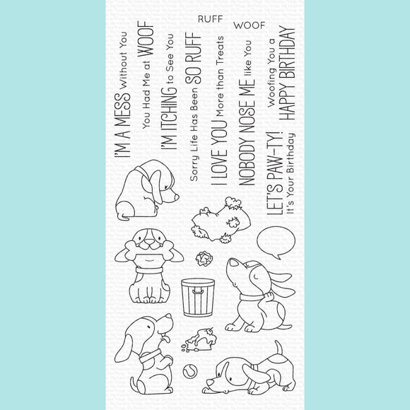 My Favorite Things - BB Woof Pack Stamps