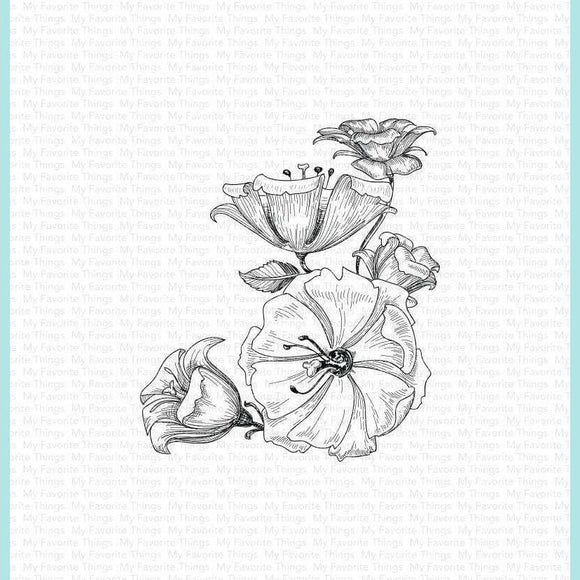 My Favorite Things - Floral Fantasy Stamps