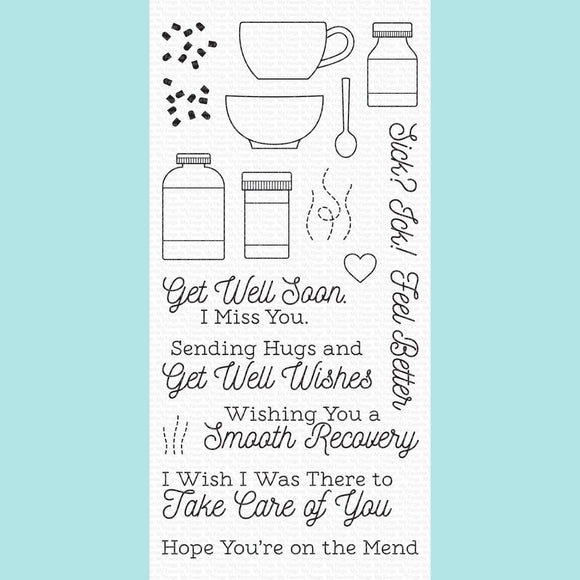 My Favorite Things -  Feel Better Stamp