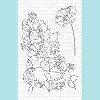 My Favorite Things - Rose Garden Stamp and Die