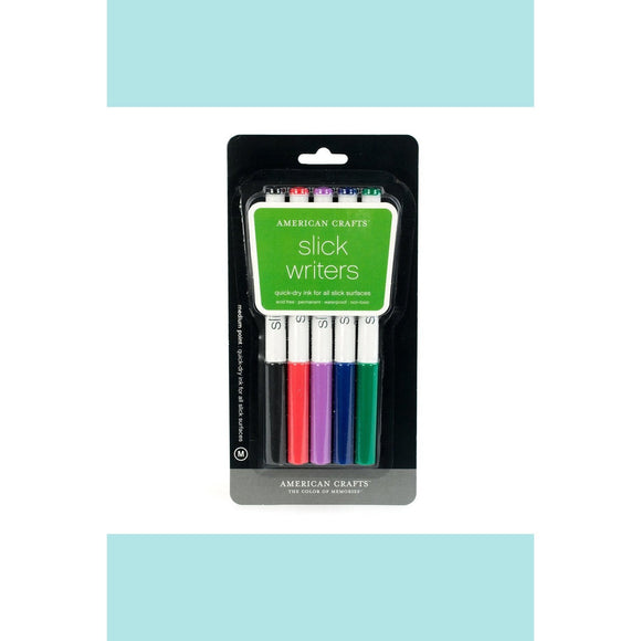 American Craft Slick Writers Medium Point - 5 Pack
