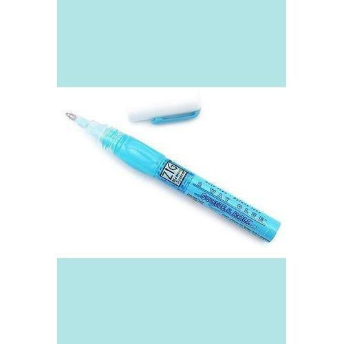 ZIG 2 Way Glue - Fine Ball Point Squeeze & Roll - 1mm Tip