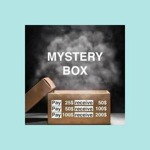 Mystery Boxes - $25 - $50 - $100 you choose!!
