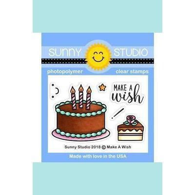 Sunny Studio Stamps - Make A Wish Stamp and Die