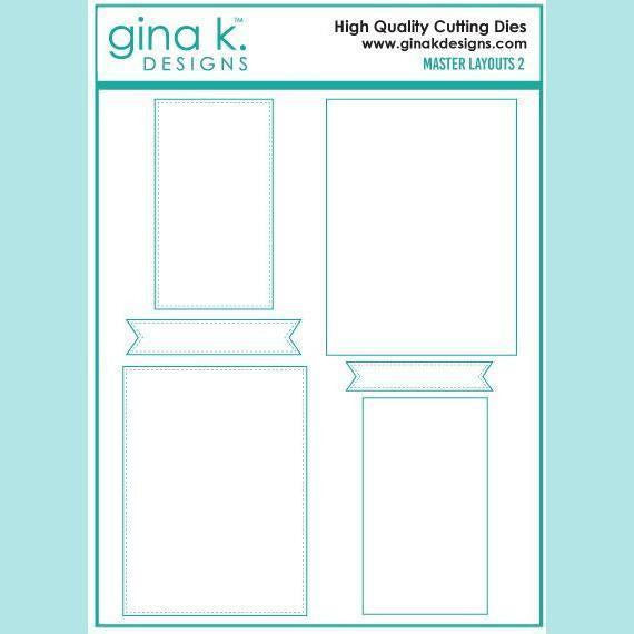 Gina K Designs – Master Layouts 2 Die Set