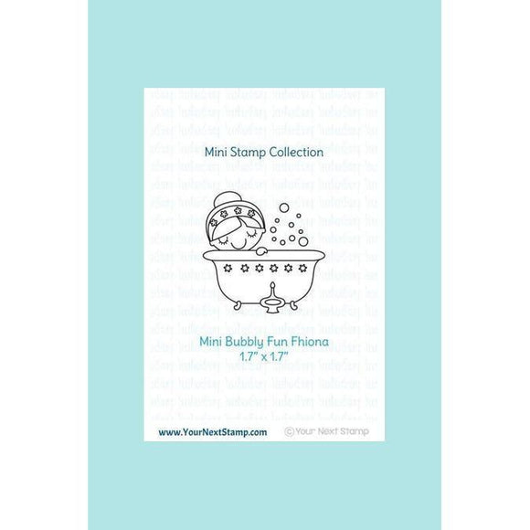 Your Next Stamp Mini Bubbly Fun Fhiona Stamp & Die