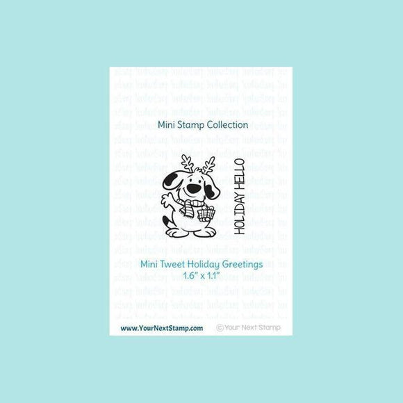 Your Next Stamp Mini Holiday Hello Stamp & Die - Christmas