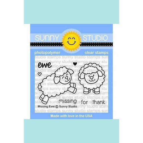 Sunny Studio Stamps - Missing Ewe Stamp and Die
