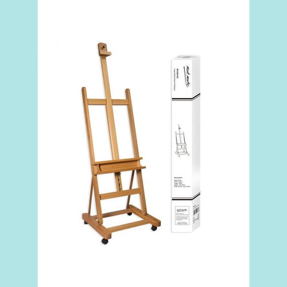 Mont Marte - Large Studio Easel with Castors