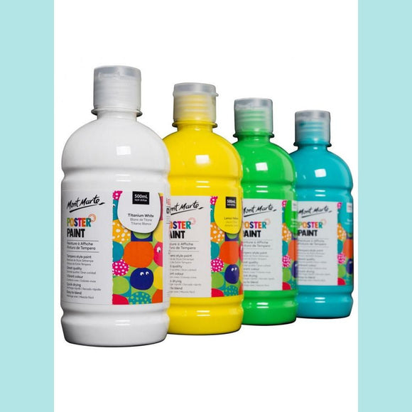 Mont Marte - Poster Paint 500ml (16.91oz)