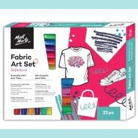 Mont Marte - Signature Fabric Art Set 22pc
