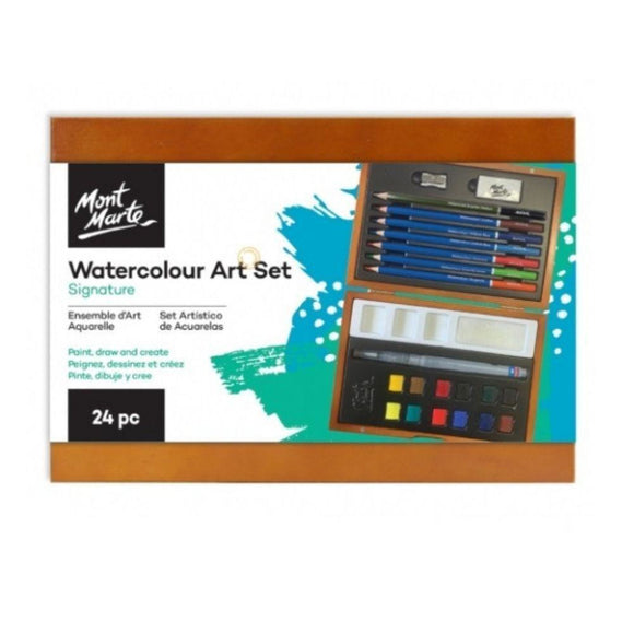 Mont Marte - Signature Watercolour Art Set 24pc
