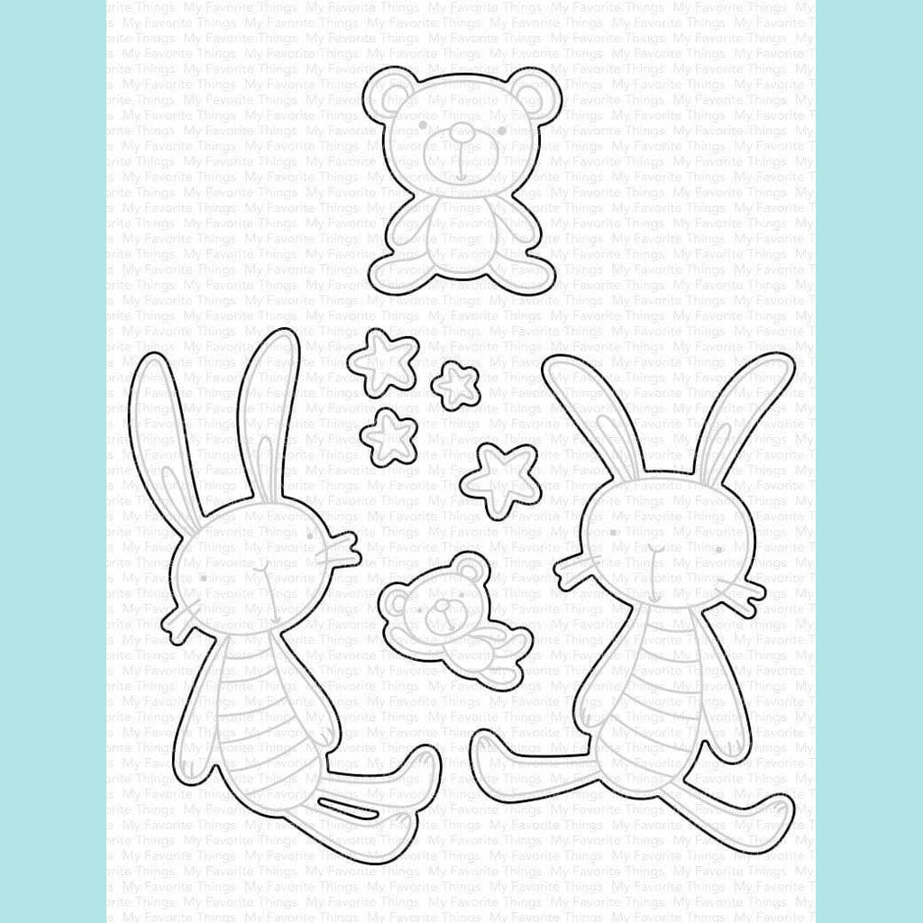 My Favorite Things - Favorite Somebunny Stamp Set DIE