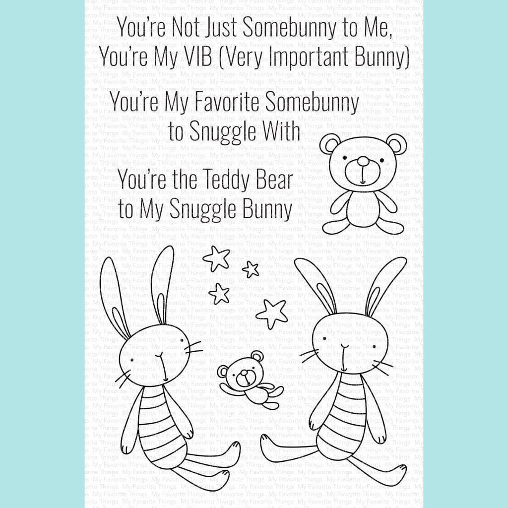 My Favorite Things - Favorite Somebunny Stamp Set STAMP