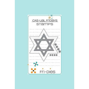 CAS-ual Fridays Stamps - Star of David Fri-Dies