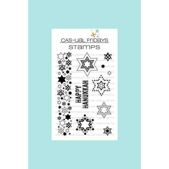 CAS-ual Fridays Stamps - Star of David Stamp