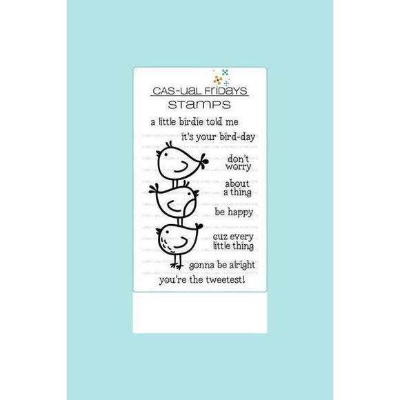 CAS-ual Fridays Stamps - Little Birdies Stamp