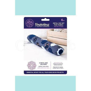 Crafters Companion Threaders Nesting Die Set Fabric Nesting Flower