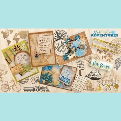 Couture Creations - New Adventures Paper & Stickers Bundle