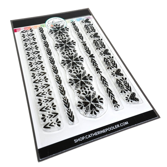 Catherine Pooler - Nordic Borders Stamp Set