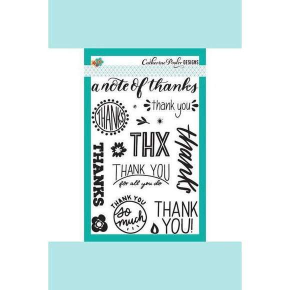 Catherine Pooler Notes of Thanks Stamp Set