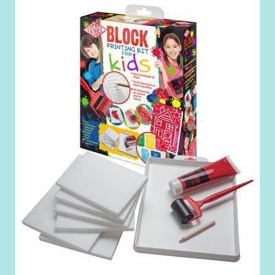 Essdee - Block Printing Kit for Kids