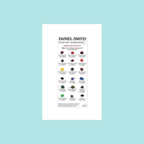 Hero Arts - Daniel Smith Watercolor Dot Palette