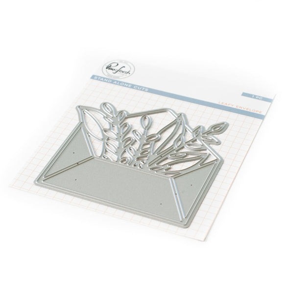 Pinkfresh Studio - Leafy Envelope Die