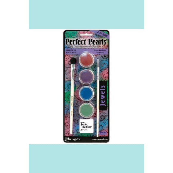 Ranger Perfect Pearls Pigment Powder Kits - Aged Patina