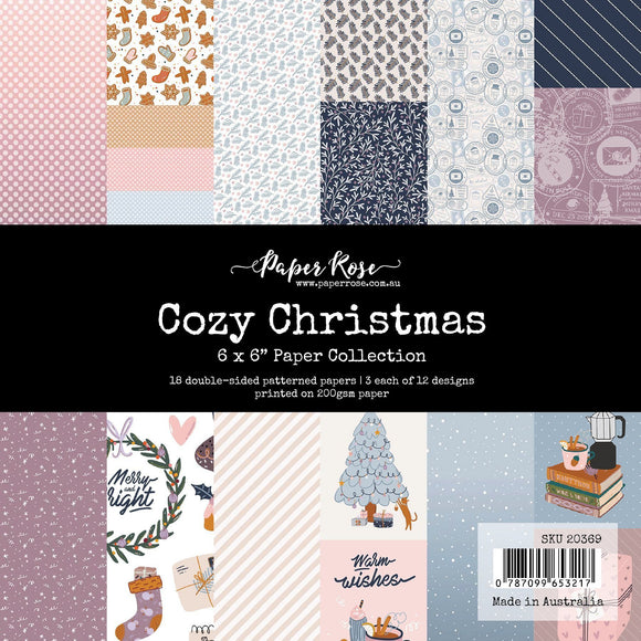 Paper Rose - Cozy Christmas - 6 x 6 Paper Collection