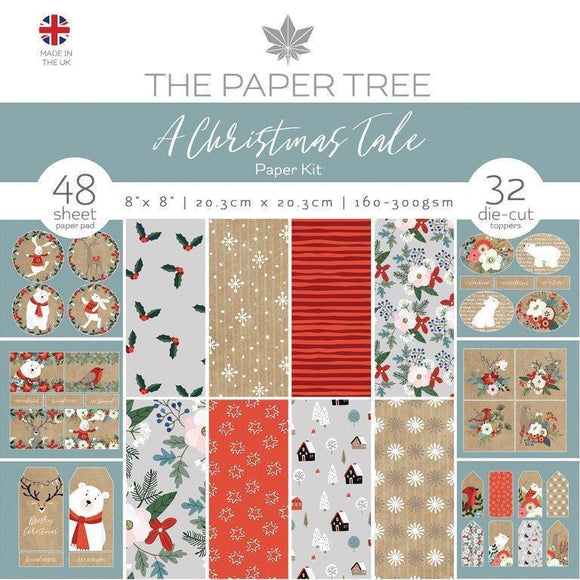 Creative Expressions - The Paper Tree - A Christmas Tale Paper Kit