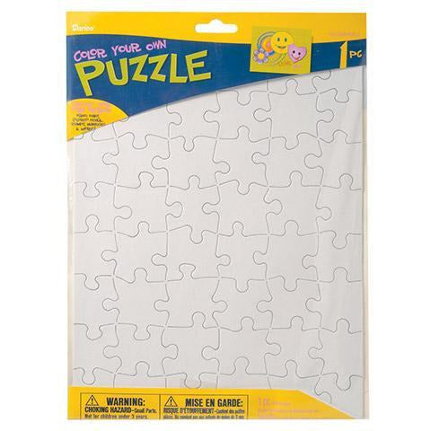 Darice - Design Your Own Puzzle: 48 pieces, 8.5 x 11 inches