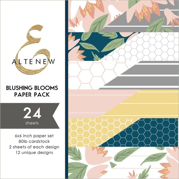 Altenew -  Blushing Blooms 6x6 Paper Pack