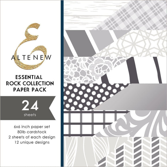 Altenew -  Essential Rock Collection 6x6 Paper Pack