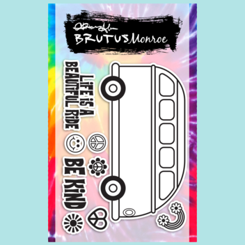 Brutus Monroe - Party Bus - 3x4 Stamp