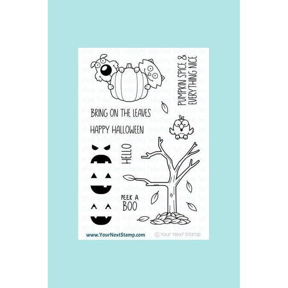 Your Next Stamp Peek a BOO Stamp & Die