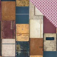 Kaisercraft - Journey - 12X12 Scrapbook Paper