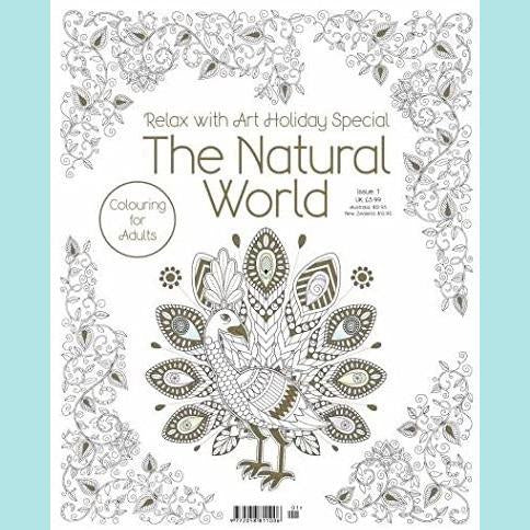 Relax With Art Holiday Special - The Natural World - Colouring Book