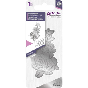 Crafters Companion - Gemini FoilPress Foil Stamp Die - Rose Bloom