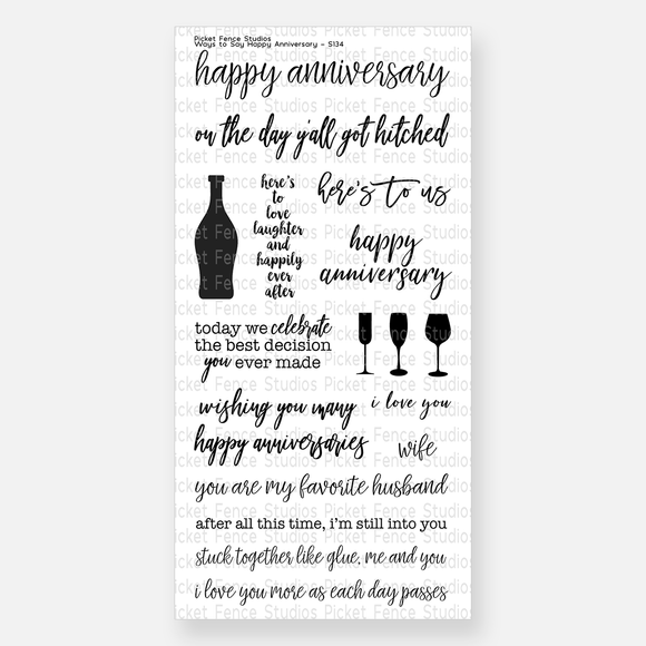 Picket Fence Studios - Ways To Say Happy Anniversary