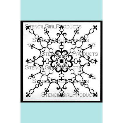 StencilGirl Decorative Filigree Ornament Stencil