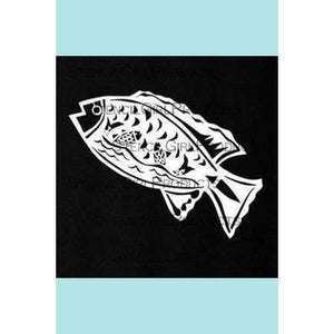 StencilGirl Pisces in Leaping Fish