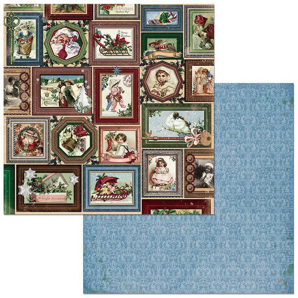 BoBunny - Christmas Treasures - Joyful - 12 ins x 12 ins